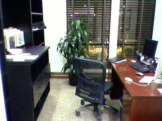 new office space near window