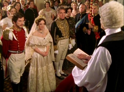 Victoria & Albert (2001) (TV), screenshot of wedding