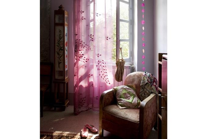 photography from danish photographer morten holtum http://www.holtum.dk/  - open window, gauze curtains, chair, throw pillows, warm interior