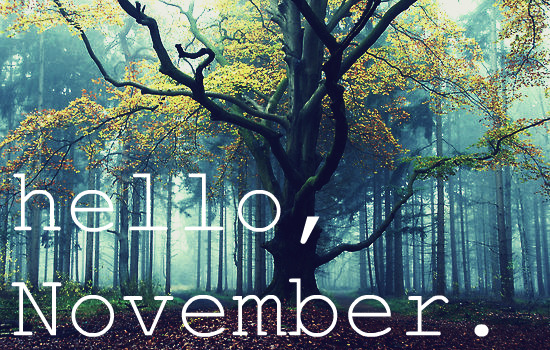 hello, november via weheartit