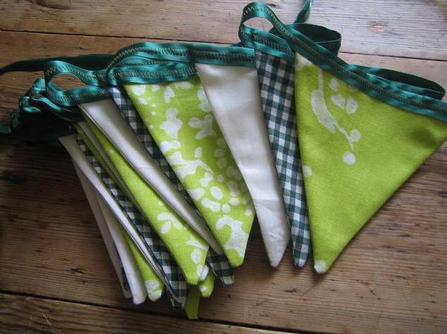 Bunting, that's what. via odd sox on flickr