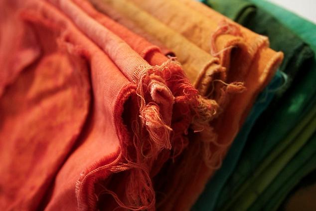 procion fiber reactive dyed fabric via relentlesstoil on flickr