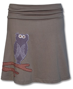 Stoney Owl Skirt from Soul FLower