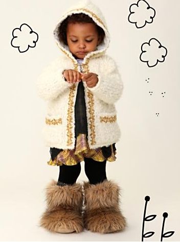 Wee People Cubby Bear Jacket via Free People