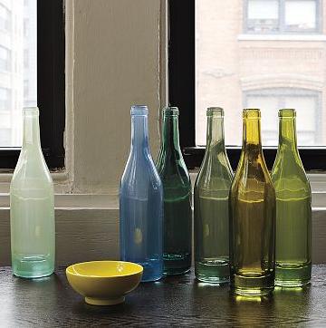 Recycled Spanish-Glass Vases via West Elm