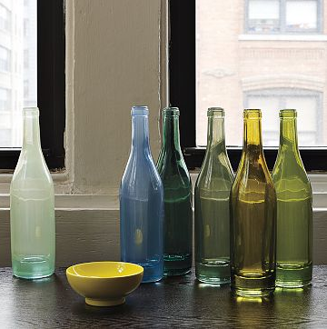 Recycled Spanish-Glass Vases via West Elm