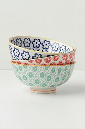 Atom Art Bowls via anthropologie