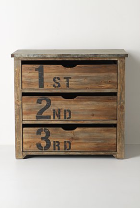 Ordinal Dresser via anthropologie