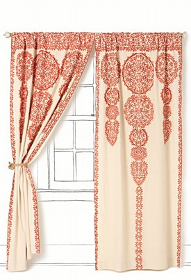 Marrakech Curtain via anthropologie