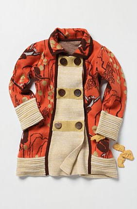 Monkey Business Coat via anthropologie kids