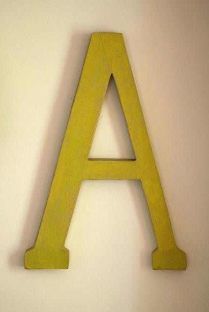 via Telling Stories/Hettle on Flickr -- typography, letters, decor, interior