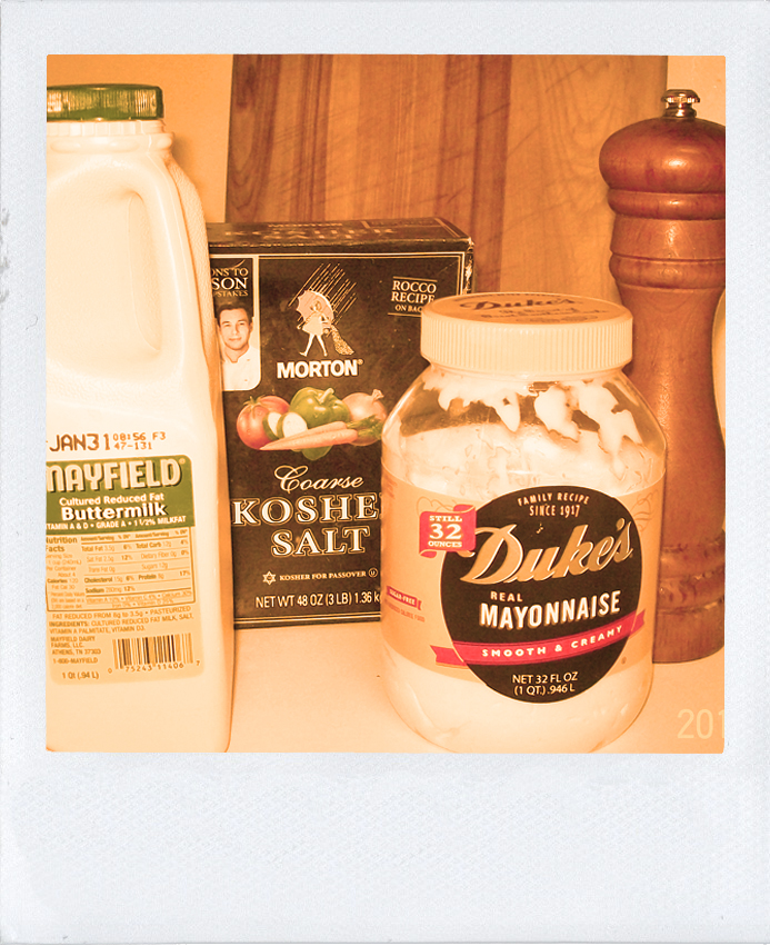 Guest Blog - Buttermilk Ranch Ingredients