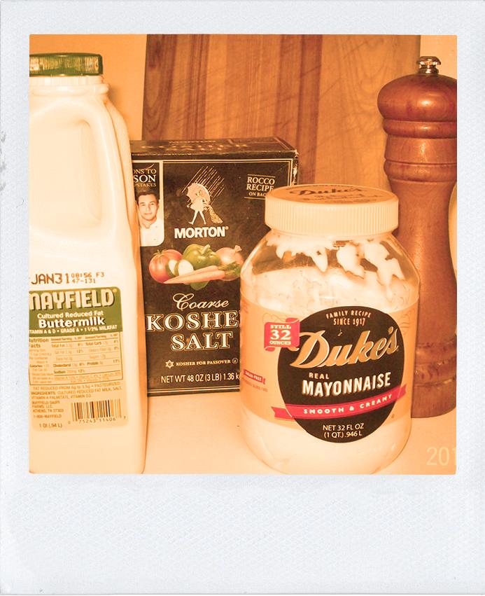 Guest Blog - Buttermilk Ranch Ingredients