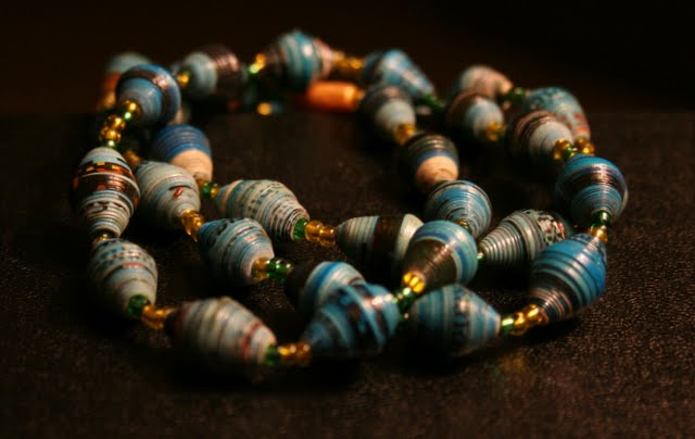 the Nakate Project - a sustainable microfinance venture selling handmade jewelry to support women with AIDS in Uganda, East Africa