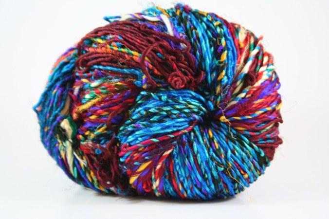 Darn Good Yarn - recycled silk yarn, recycled silk ribbon, exotic craft supplies, recycled sari