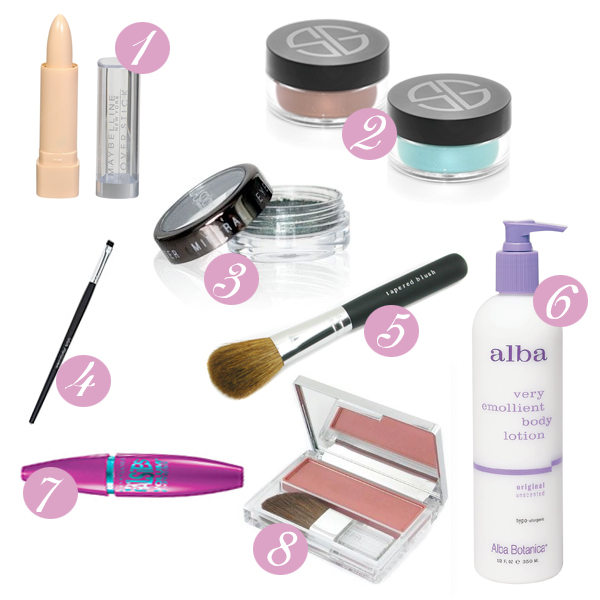 oaxacaborn blog - quick and easy cosmetics - favourite make-up products