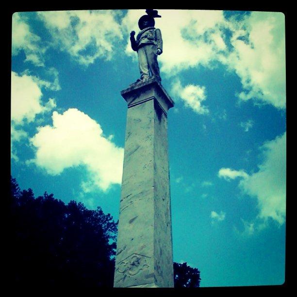 Confederate Monument at Lake Eola, Orlando Florida