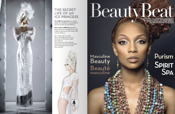 nakate in canadian hairdresser magazine