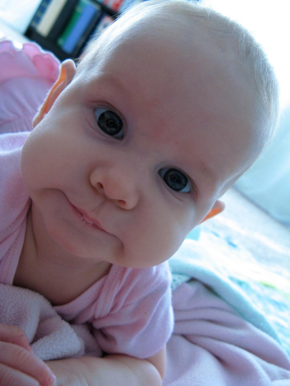 baby aveline alenka - 16 weeks old