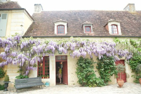 normandy france - cottage at easter- via jordan ferney
