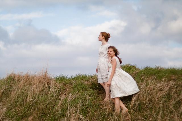 John Allen Photography for Anna Allen. Models: Anna Allen + Moriah McClurg. (Anna Allen Clothing)