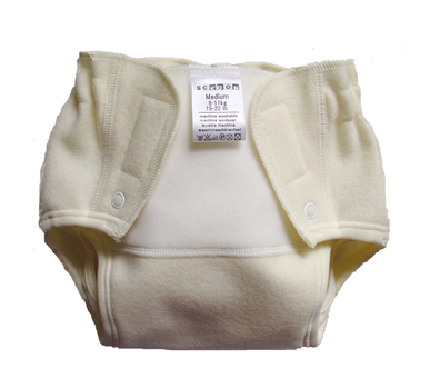 Sckoon Stick -N- Snap Machine Washable Merino Wool Diaper Cover