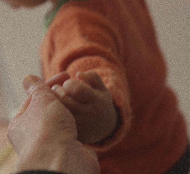 Artsy Ants - Sylvia - Photograph of Mother and Child's Hand
