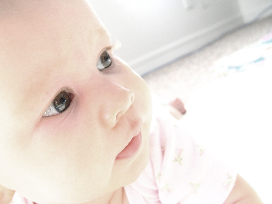 Aveline Alenka - 5 Months Old - 30 Day June Photo Challenge - Eyes