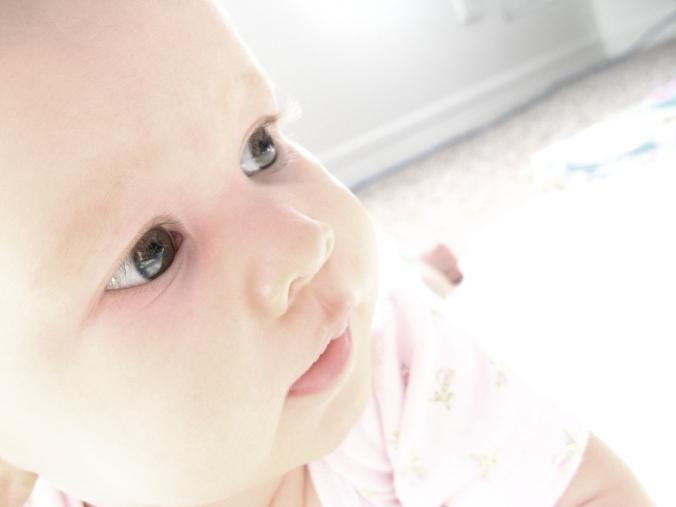 Aveline Alenka - 5 Months Old - 30 Day June Photo Challenge - Eyes