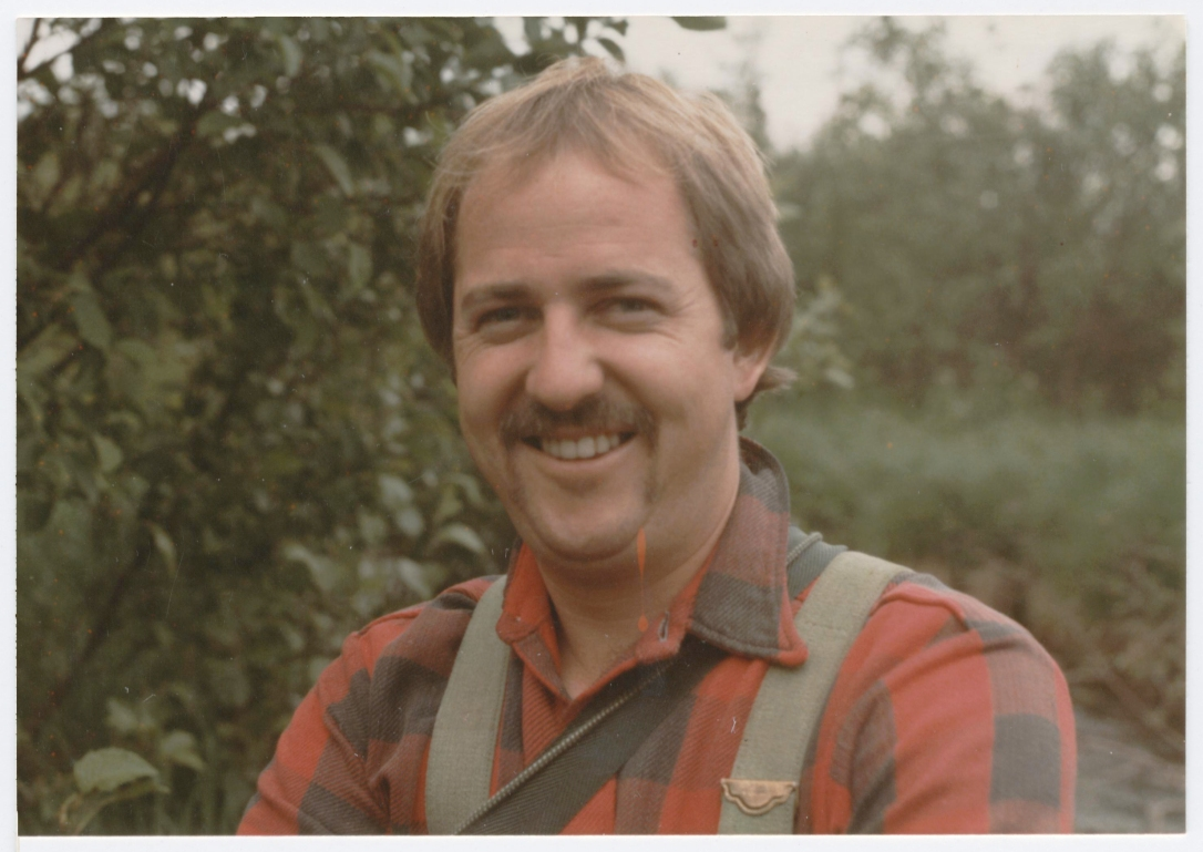 Dad Portrait in Plaid - Happy Fathers Day