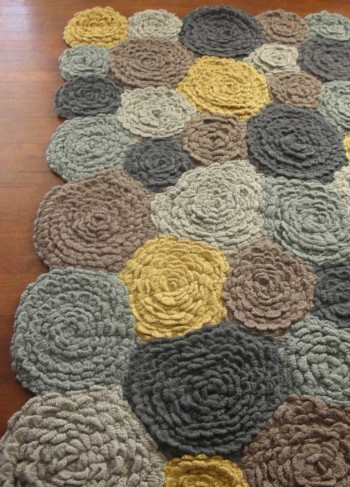 Meadowflower Rug via VivaTerra - Textiles Board on Oaxacaborn