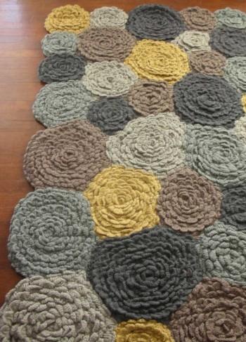 Meadowflower Rug via VivaTerra - Textiles Board on Oaxacaborn