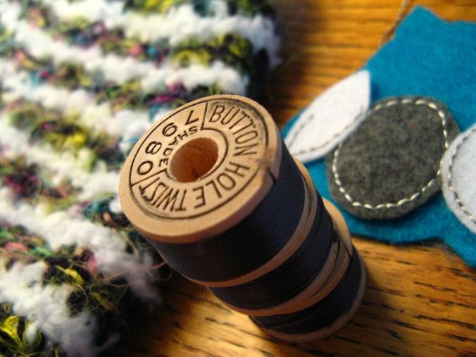 vintage corticelli silk thread / belding richardson button hole twist