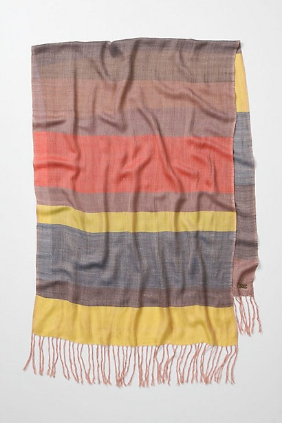Anthropologie Defined Lines Scarf - Oaxacaborn Pretty Things