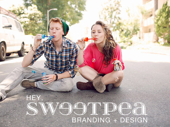 Hey, Sweet Pea [Branding + Design]