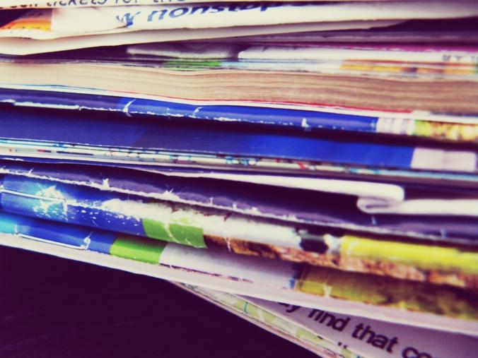 Image of Paper Ephemera from Europe Trip