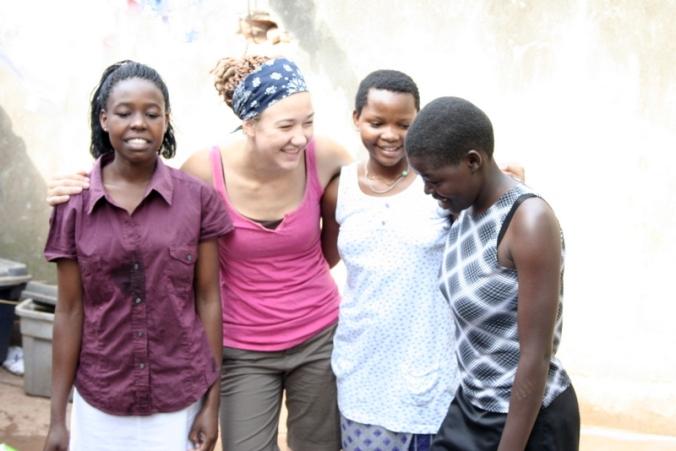 On the ground in Kakooge, Uganda with Nakate Project