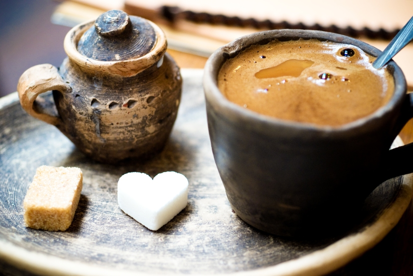 Bosnian Coffee in Sarajevo, via RamblinCat on DeviantArt