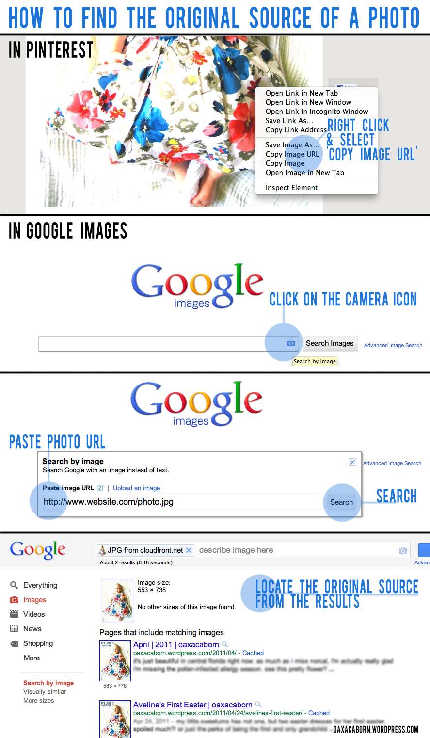 Source Pinterest: How To Use Google Images To Find The Original Source Of An