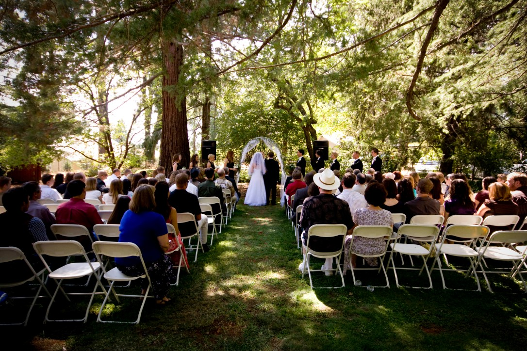 NorCal wedding outdoors
