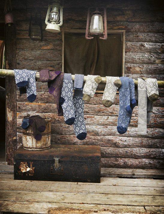 Toast - House + Home Autumn 2011 - Nordic Socks