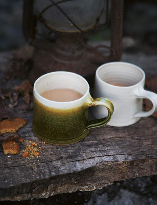 Toast - House + Home Autumn 2011 - Pottery Coffee Mugs