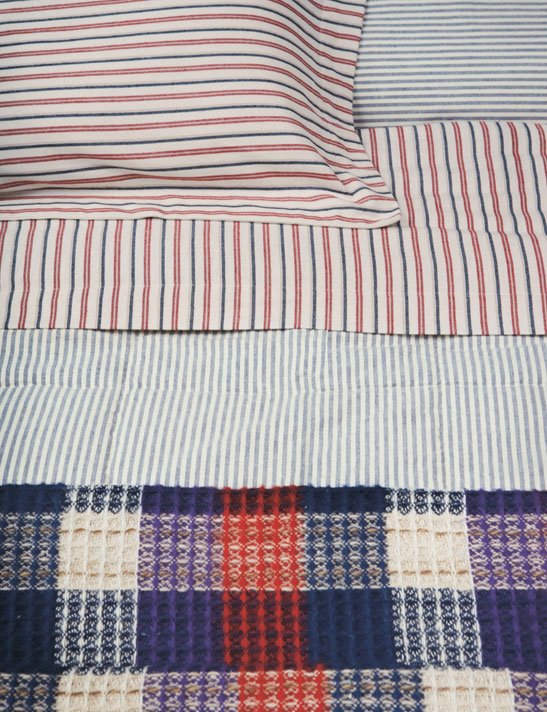 Toast - House + Home Autumn 2011 - Textiles - Stripes and Plaid