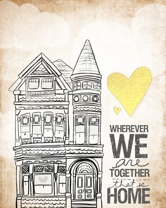 Wherever We Are Together, That is Home via VOl 25