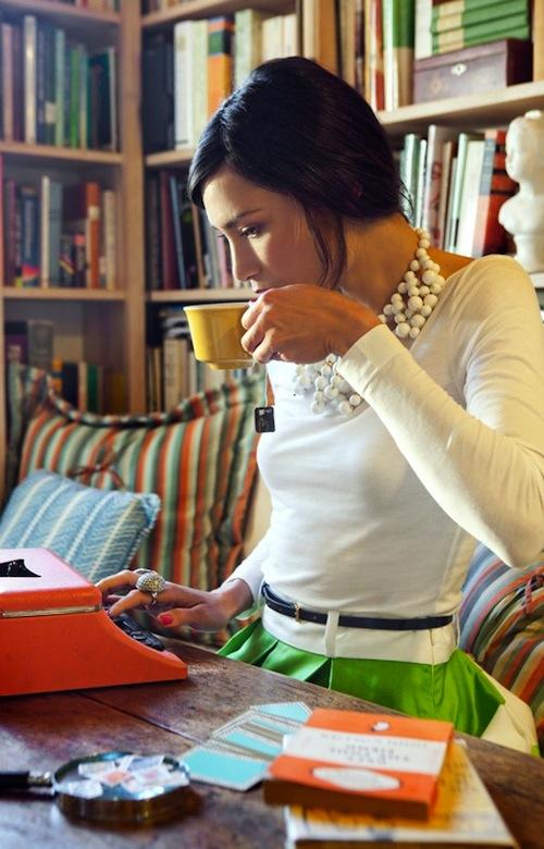 Shoshanna Gruss photographed by Rachel McGinn for Matchbook Mag Issue 5