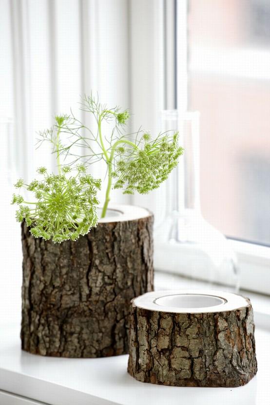 Tree Trunk Vase via Ferm Living