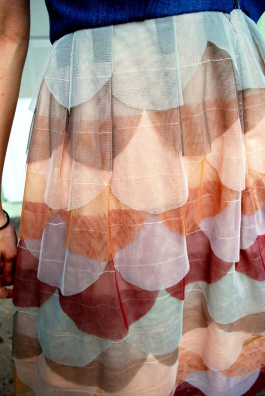 Tulle Dress via AshChaser on BurdaStyle