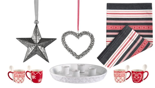 Indiska Christmas items on Scandinavian Christmas blog