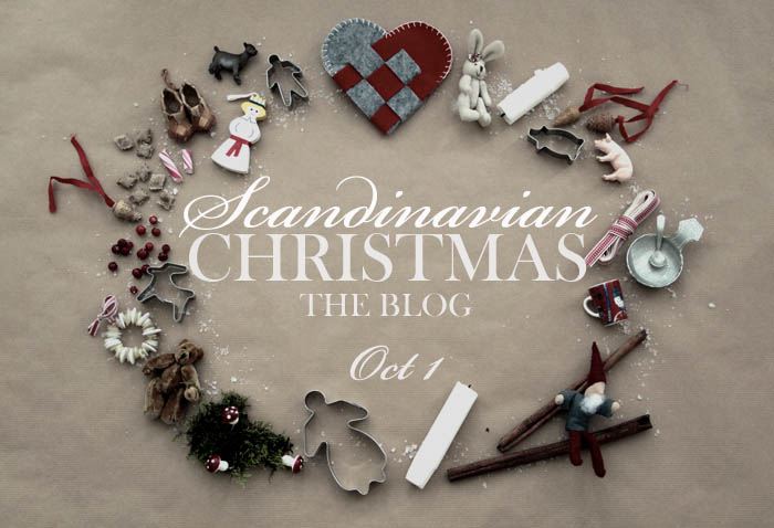 Scandinavian Christmas - new Christmas blog