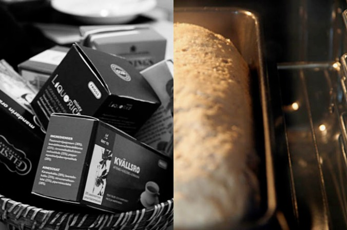 Swedish coffee and bread - Scandinavian Christmas